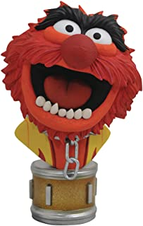 DIAMOND SELECT TOYS OCT182226 Select Toys Legends in 3-Dimensions: The Muppets Animal 1: 2 Scale Bust, Multicolor