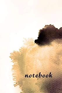 notebook: 100 days planner with to do list , notebook , stylish glossy cover , 6 x 9 inches , black and withe interior pap...