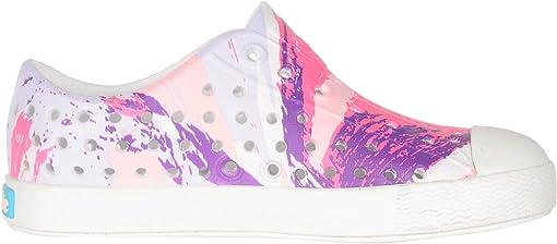 Shell White/Shell White/Pink Multi Splatter