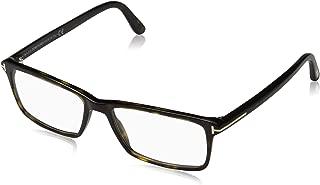 Men's TF 5408 Rectangular Eyeglasses 56mm, Shiny Classic...