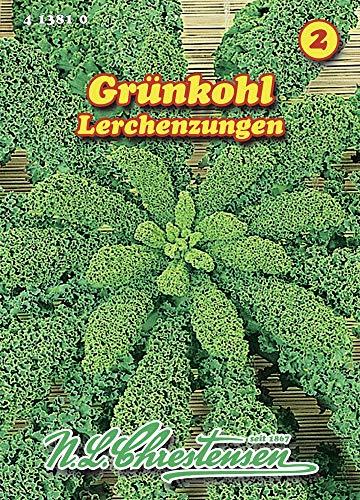 N.L. Chrestensen 413810 Grünkohl Lerchenzungen (Grünkohlsamen)