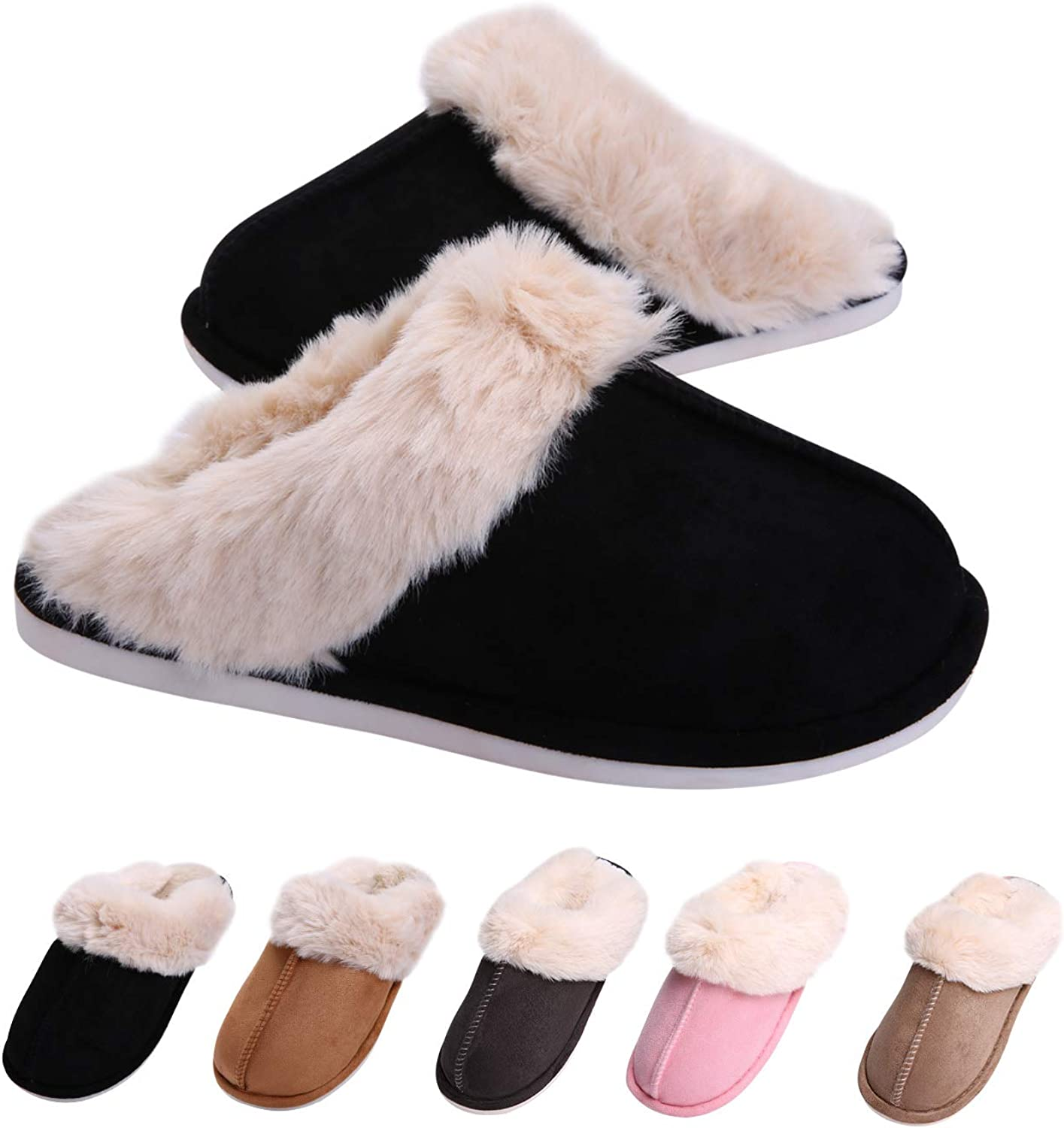Women's and Men's House Slippers Memory Fo Warm Bedroom Overseas parallel Baltimore Mall import regular item