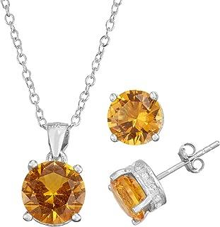 Best citrine jewelry set Reviews