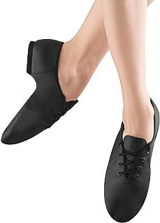 Bloch Dance Girl's Jazzsoft Split Sole Leather Jazz Shoe