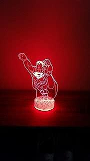 Superman 3D LED Night Light 7 Color