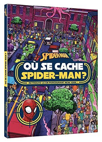 SPIDER-MAN - Où se cache Spider-Man ? - Cherche et trouve - Marvel: Retrouve-le en parcourant New York !