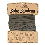 Natural Life Boho Bandeau Solid, Olive