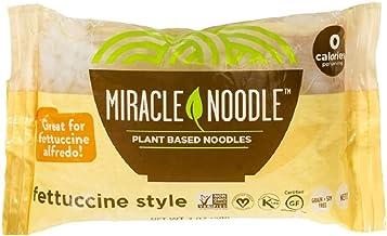 Miracle Noodle Shirataki Fettuccini, Gluten-Free, Zero Carb, Keto, Vegan, Soy Free, Paleo, Blood Sugar Friendly, 7oz (Pack...