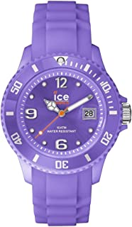 ICE-Watch - Ice-Forever Trendy - Light Purple - Unisex - Montre Mixte Quartz Analogique - Cadran Violet - Bracelet Silicon...