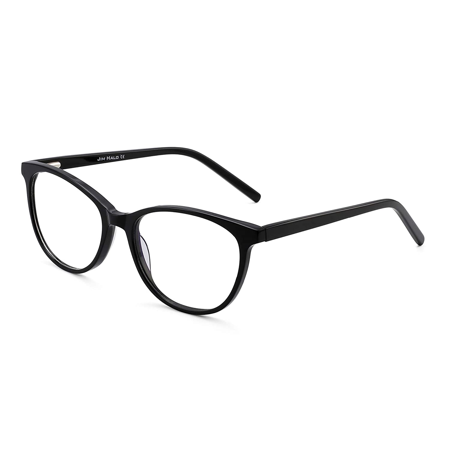 JIM HALO Blue Light Blocking Computer Glasses Spring Hinge Video Gaming Eyeglasses Reduce Eye Fatigue
