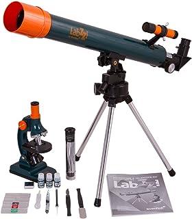 Kit de microscopio y telescopio astron/ómico para Ciencias Eduscience TM237 900X