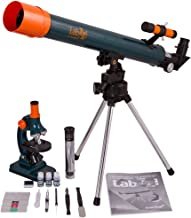 Levenhuk LabZZ MT2 Educational Kit for Kids (Microscope and Telescope) – Science Set with All Accessories