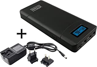 XTPower XT-20000QC3 PowerBank Modern DC/USB Battery with 20400mAh - 5V USB 12V to 24V Including Quick Charge 3.0 for Laptops, Tablets, Samsung, iPhone, and More!