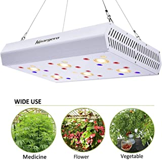 LED Grow Light - 1200W COB LED Grow Lights Full Spectrum with UV IR 3000K COBs 3W Osram Chips for Indoor Plants Veg Flower Lighting