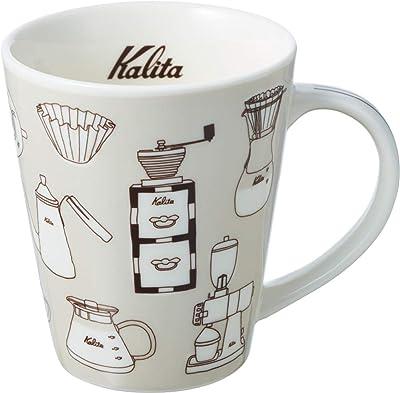 Kalita (カリタ) マグカップ カリタマグ ウォームグレー 約300ml #73164