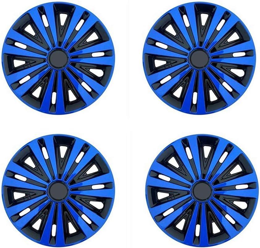 "4x 14/"" Wheel Trims Hub Caps 14 Inch Wheel Cover Trim ABS Plastic Trim AKTN BLUE"