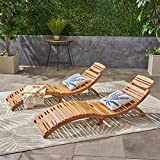 Best Pool Chairs - (Set of 2) Lisbon Outdoor Folding Chaise Lounge Review