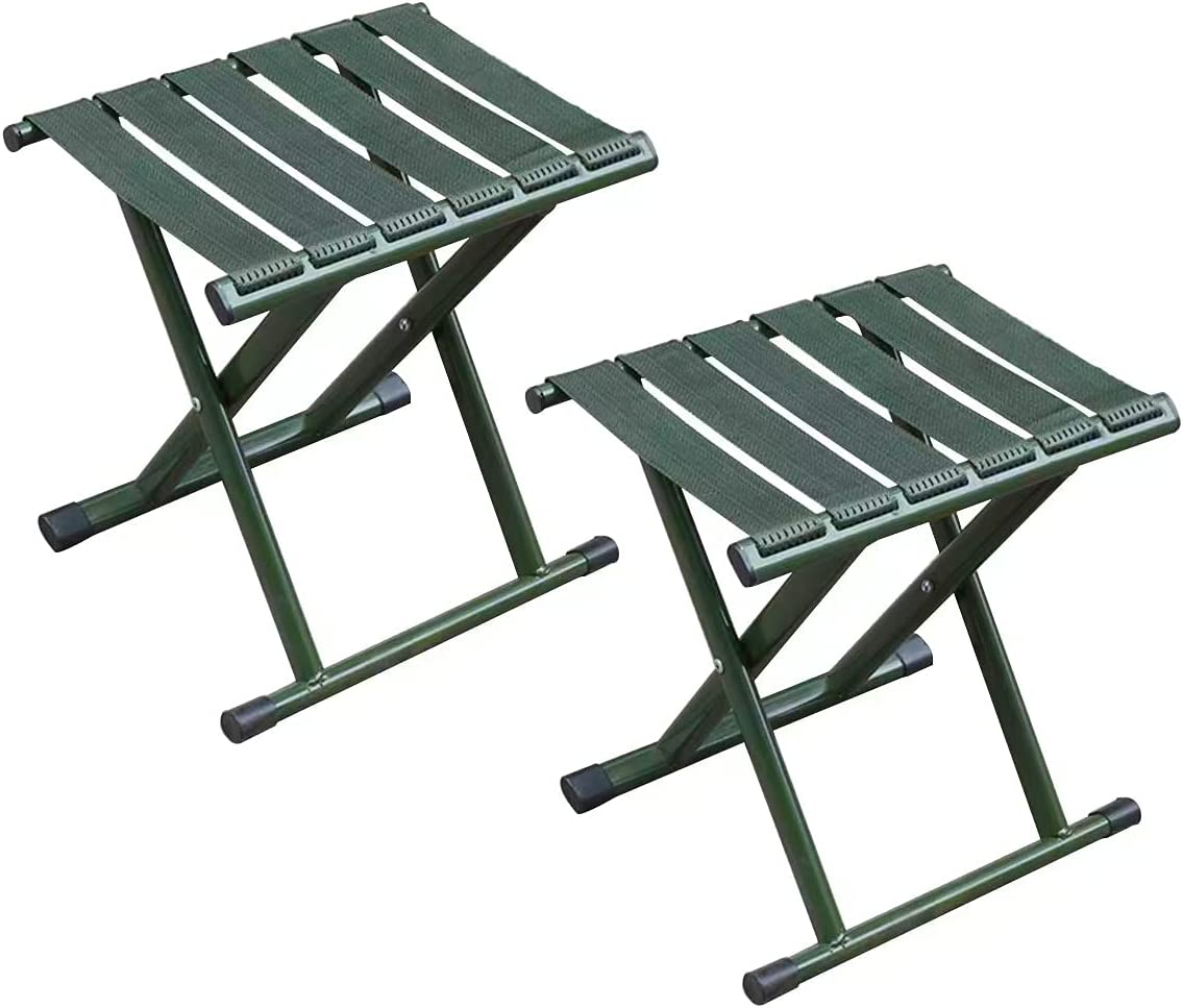 2 Pack Cash special price Folding Stool Ranking TOP3 Collapsible 600 Campi lbs Support