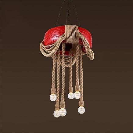 Amazon.fr : lustre rouge - Éclairage de salle de bain ...