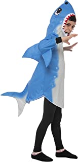 Spooktacular Creations Halloween Blue Unisex Shark Costume for Child Halloween Trick-or-Treating