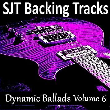 Guitar Backing Jam Tracks Dynamic Ballads Vol 6