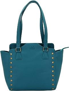 Lapis O Lupo Aqua Blue Women's Handbag (Tourquise) Multi-functional pocket design