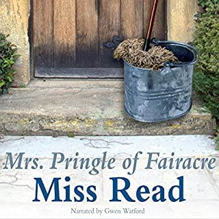Mrs. Pringle of Fairacre audiobook cover art