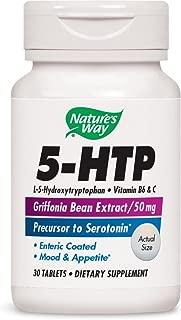 Nature's Way 5-HTP, 50 mg, 30 Tablets