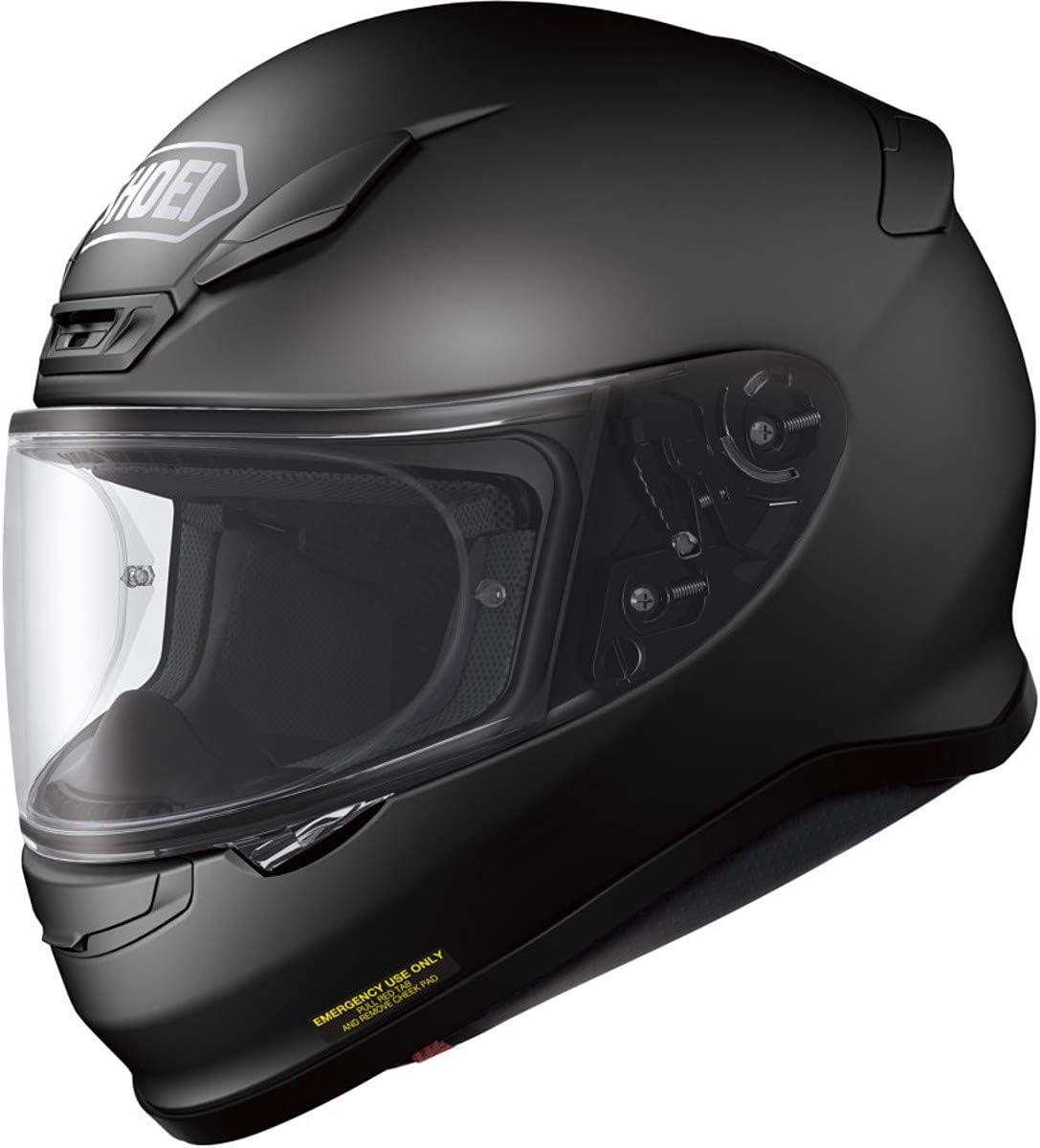 Shoei Men's Rf-1200 Full Face Motorcycle Helmet (Large, Matte Black)
