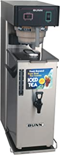 BUNN 36700 Commercial Iced Tea Brewer with Portable Server, 3 Gallon, Black/Stainless Steel