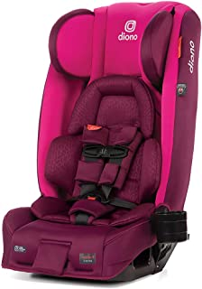 Diono 2020 Radian 3RXT, 4-in-1 Convertible, Extended Rear Facing, 10 Years 1 Car Seat, Fits 3 Across, Slim Fit Design, Pur...