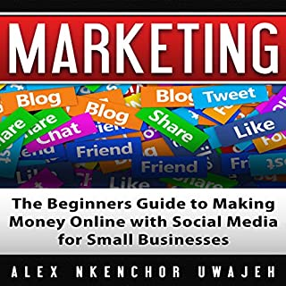 Marketing: The Beginners Guide to Making Money Online with Social Media for Small Businesses cover art
