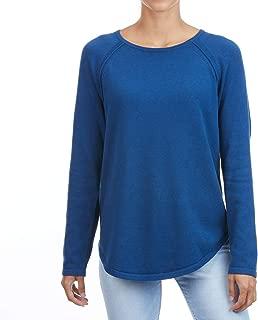 Women's Classic Fine Gauge Cotton Crew Neck Sweater