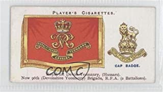 Royal 1st Devon Yeomanry (Trading Card) 1924 Player's Drum Banners & Cap Badges - Tobacco [Base] #41