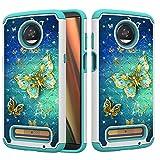 Coque de protection hybride 2 en 1 double couche résistante aux chocs pour Motorola Moto Z3/Z3 Play...