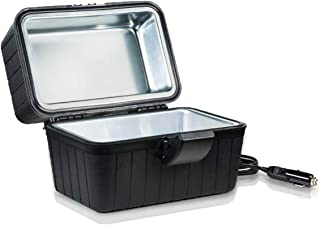 Zento Deals Heating Lunch Box Stove,Perfect for Outdoors Travelling, Easy to Clean Insulated Lightweight, 12V Cigarette Plug