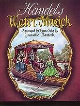 handel water music piano sheet music