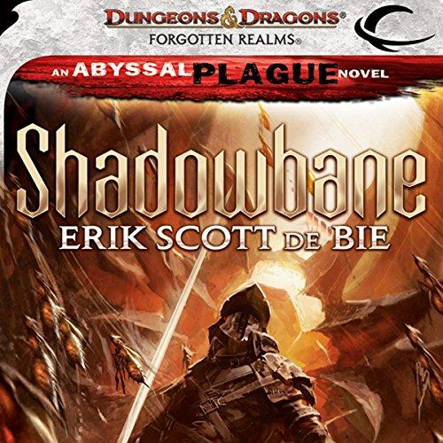 Shadowbane audiobook cover art