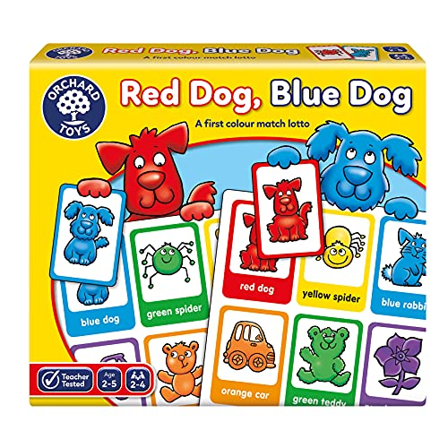 Orchard Toys Red Dog Blue Dog Lotto G