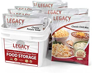 Long Term Gluten Free 72 Hour Emergency Food Kit: 32 Large Servings - 9 lbs Disaster Prepper Freeze Dried Meals - Disaster...