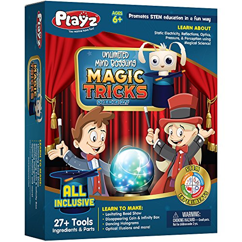 Playz Unlimited Mind Boggling Magic Tricks Science Activity Kit