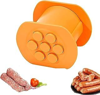Machine à hot dog Fabricant Manuel De Saucisse Machine à Saucisse à Une Touche Machine à Saucisses 7 Trous Fabricant De Sa...