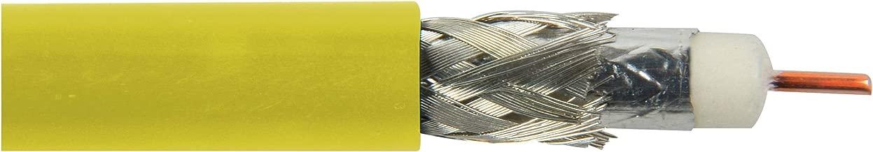 Belden 1694A cm Rated 3G-Sdi Rg6 Digital Coaxial Cable - Yellow - Per Foot