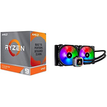 Amazon Com Amd Ryzen 9 3950x 16 Core 32 Thread Unlocked Desktop Processor With Corsair H115i Rgb Platinum Aio Liquid Cpu Cooler Computers Accessories