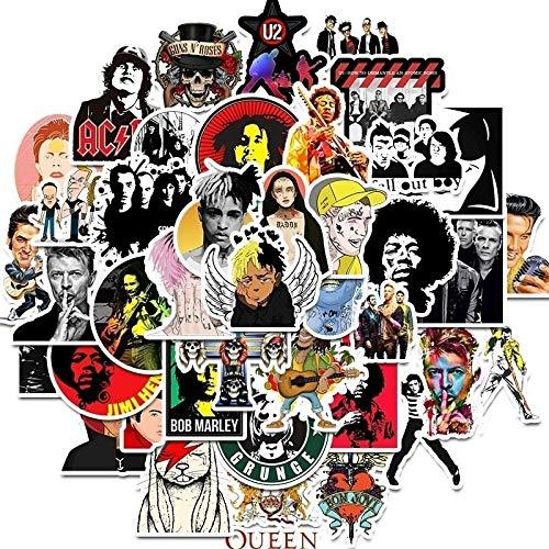 PMSMT 10/30/50 Uds Hip Hop Rock Punk Rap Personaje Avatar música Equipaje Carro Guitarra Cuaderno Coche Graffiti Pegatina al por Mayor