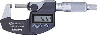 Mitutoyo Digital micrómetro Serie 293sin salida de datos IP65, rango de medición 0–25mm, 1pieza, 101168196