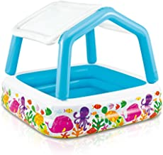 paddling pool with canopy