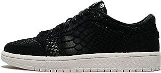 Nike Jordan Women's Retro 1 AJ Lo Sneakers-Black/Sail