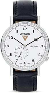 Junkers Eisvogel F13 Watch - White/Leather 6730-1