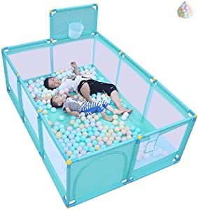 LOVE BABY Lovebaby Playpen Panel Baby Children s Game Fence Play Yard with Balls Household Shooting Fence Kid s Safety Activity Center